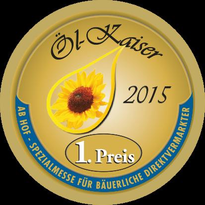 Öl-Kaiser 2015 - 1. Preis für Terra Dalmatia